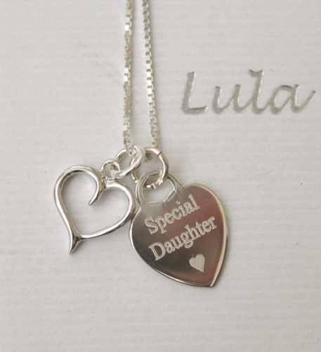 Engraved gift necklace - FREE ENGRAVING